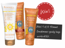 Free Rimmel Water Resistant Instant Tan